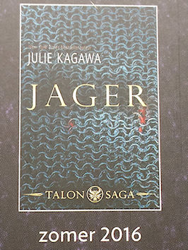 Boek, Julie kagawa, Jager, harper Collins Young Adult, harper Collins Holland