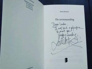 boek, kate morton, de vertrouweling, uitgeverij de Boekerij