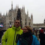 Skiën of Zonnen , Milaan , winetrsport