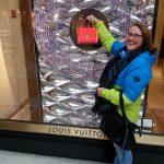 Skiën of Zonnen , Louis Vuitton , Milaan , wintersport