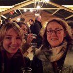 Glühwein, drijvende kerstmarkt Leiden