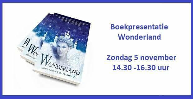 Boekpresentatie Wonderland